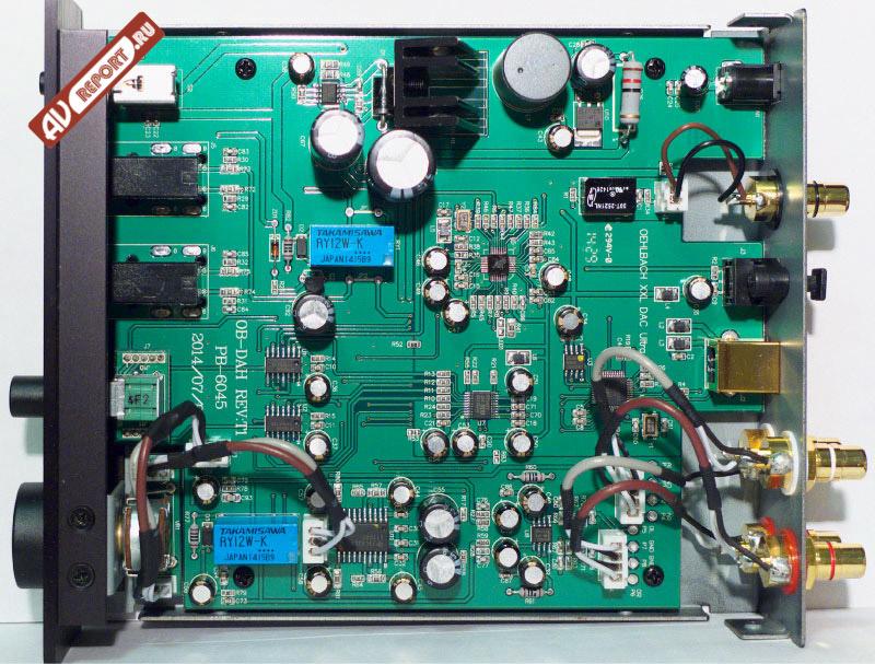Схема XXL DAC Ultra собрана на